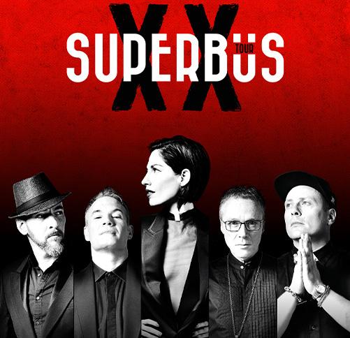 affiche groupe supberbus xx tour